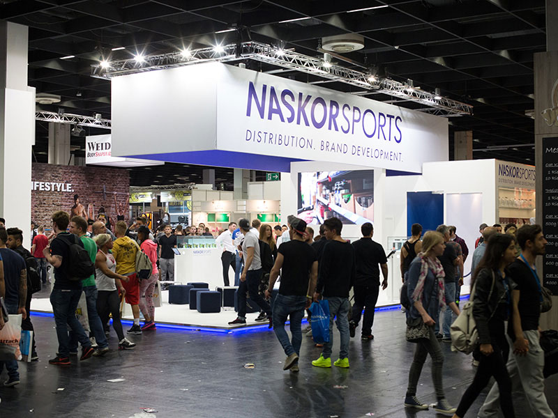 First time NaskorSports is present at the FIBO trade fair